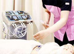 最新の治療機器の写真